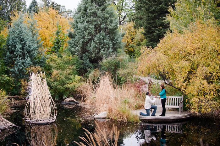 A Denver Botanic Garden's Proposal; Alexander & Erin