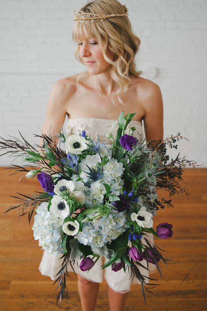 recycled details wedding bouquet