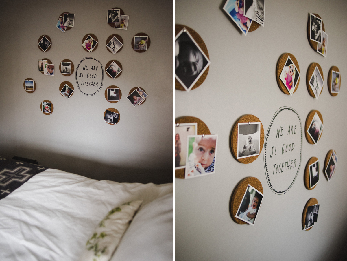 Cork board photo display-7