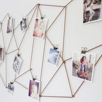 10 Unique Ways to Display Your Photos.